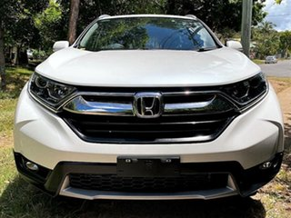 2019 Honda CR-V RW MY19 VTi FWD Platinum White 1 Speed Constant Variable Wagon.