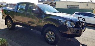 2015 Mazda BT-50 MY16 XT Hi-Rider (4x2) 6 Speed Manual Dual Cab Chassis