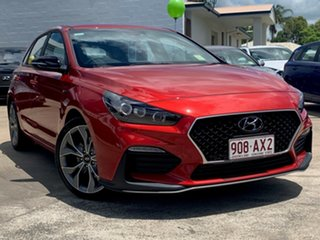 2020 Hyundai i30 PD.V4 MY21 N Line D-CT Lava Orange 7 Speed Sports Automatic Dual Clutch Hatchback.