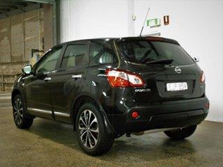 2012 Nissan Dualis J10W Series 3 MY12 Ti-L Hatch 2WD Black 6 Speed Manual Hatchback.