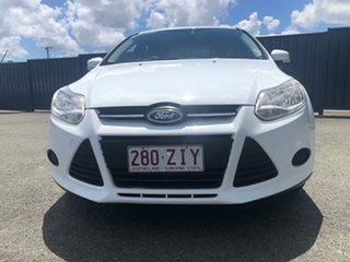 2012 Ford Focus LW Ambiente PwrShift White 6 Speed Sports Automatic Dual Clutch Hatchback