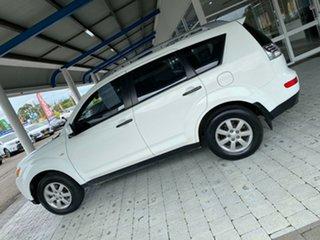 2007 Mitsubishi Outlander LS White Constant Variable Wagon