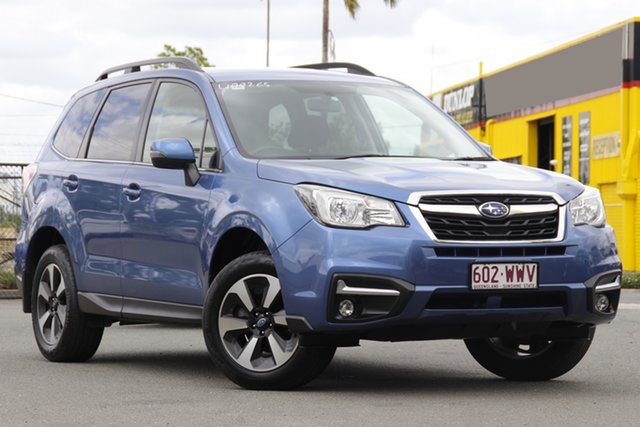 Used Subaru Forester S4 MY16 2.5i-L CVT AWD Rocklea, 2016 Subaru Forester S4 MY16 2.5i-L CVT AWD Quartz Blue/matching 6 Speed Constant Variable Wagon