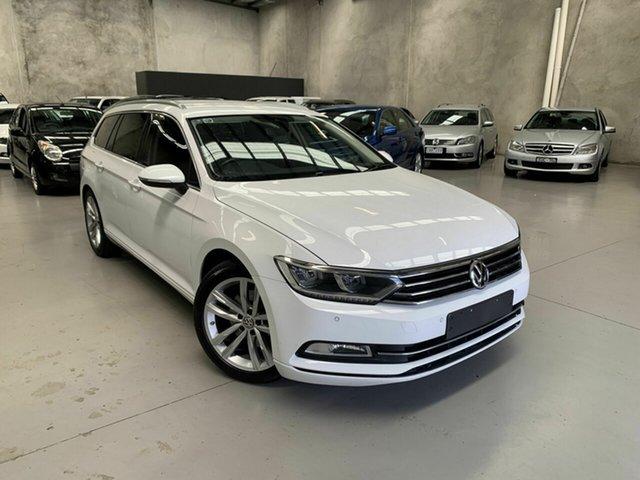 Used Volkswagen Passat 3C (B8) MY18 132TSI DSG Comfortline Coburg North, 2018 Volkswagen Passat 3C (B8) MY18 132TSI DSG Comfortline White 7 Speed