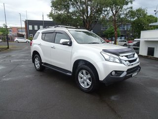 2016 Isuzu MU-X MY15.5 LS-T Rev-Tronic 4x2 Splash White 5 Speed Sports Automatic Wagon.