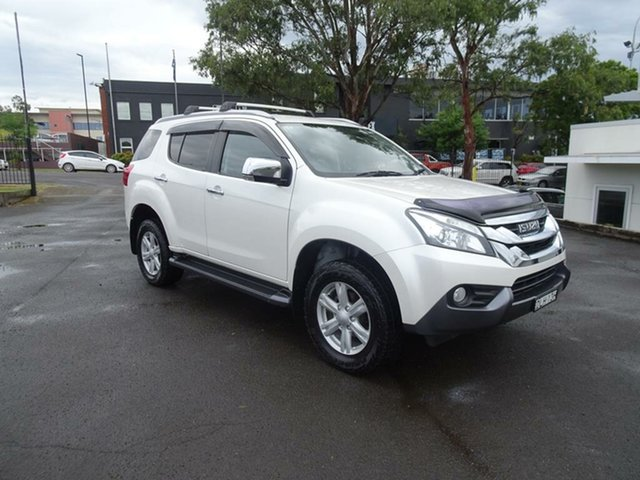 Used Isuzu MU-X MY15.5 LS-T Rev-Tronic 4x2 Nowra, 2016 Isuzu MU-X MY15.5 LS-T Rev-Tronic 4x2 Splash White 5 Speed Sports Automatic Wagon