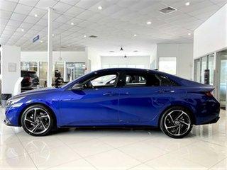 2020 Hyundai i30 CN7.V1 MY21 N Line D-CT Intense Blue 7 Speed Sports Automatic Dual Clutch Sedan
