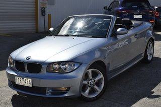 2008 BMW 120i E88 120i Blue 6 Speed Automatic Convertible.
