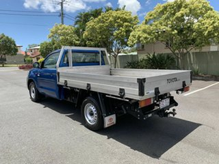 2013 Toyota Hilux TGN16R Workmate Blue 5 Speed Manual Single Cab