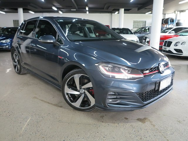 Used Volkswagen Golf 7.5 MY18 GTI DSG Albion, 2018 Volkswagen Golf 7.5 MY18 GTI DSG Grey 6 Speed Sports Automatic Dual Clutch Hatchback