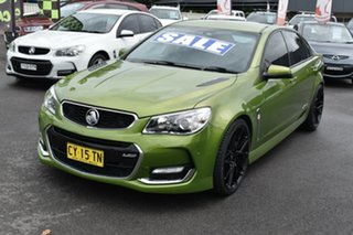 2015 Holden Commodore VF II MY16 SS Green 6 Speed Sports Automatic Sedan