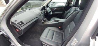 2011 Mercedes-Benz C-Class W204 MY10 C200 CGI Avantgarde Silver 5 Speed Sports Automatic Sedan