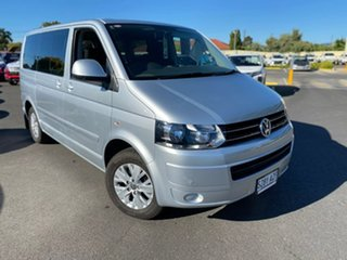 2013 Volkswagen Multivan T5 MY13 TDI340 DSG Comfortline Silver 7 Speed Sports Automatic Dual Clutch.