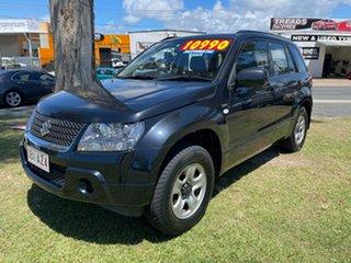 2009 Suzuki Grand Vitara JB MY09 Black 4 Speed Automatic Wagon.