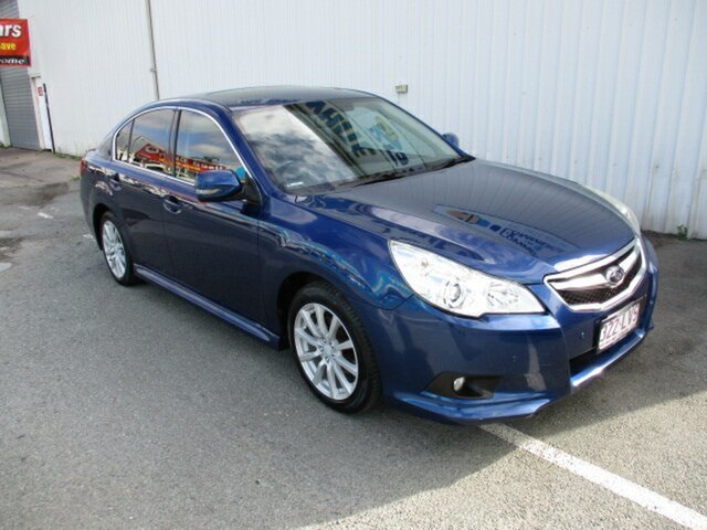 Used Subaru Liberty Woodridge, 2009 Subaru Liberty PREMIUM Blue 4 Speed Automatic Sedan