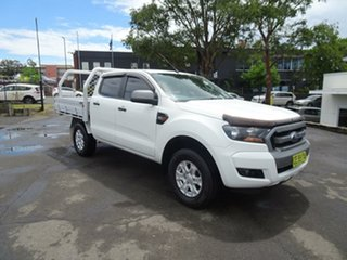 2015 Ford Ranger PX MkII XLS Double Cab White 6 Speed Sports Automatic Utility.