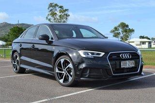 2019 Audi A3 8V MY20 40 TFSI S Tronic Quattro S Line Plus Black 7 Speed Sports Automatic Dual Clutch.