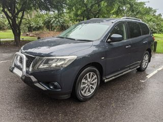 2016 Nissan Pathfinder R52 MY15 ST X-tronic 2WD Blue 1 Speed Constant Variable Wagon