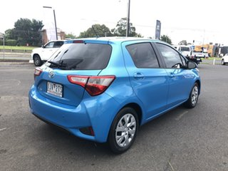2017 Toyota Yaris NCP131R SX Blue 4 Speed Automatic Hatchback.