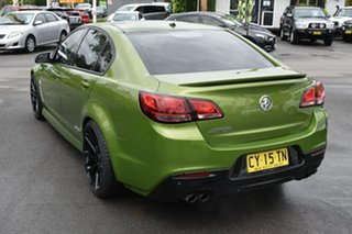 2015 Holden Commodore VF II MY16 SS Green 6 Speed Sports Automatic Sedan.
