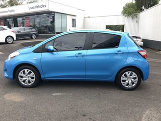 2017 Toyota Yaris NCP131R SX Blue 4 Speed Automatic Hatchback