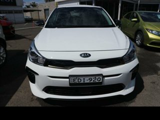 2020 Kia Rio YB MY20 GT-Line White 7 Speed Auto Dual Clutch Hatchback