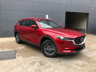 2020 Mazda CX-8 KG2WLA Touring SKYACTIV-Drive FWD Soul Red Crystal 6 Speed Sports Automatic Wagon.