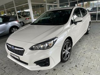 2019 Subaru Impreza 2.0i - Limited Edition White Constant Variable Hatchback.
