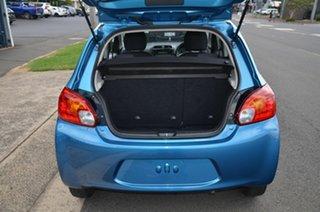 2014 Mitsubishi Mirage LA ES Blue 5 Speed Manual Hatchback