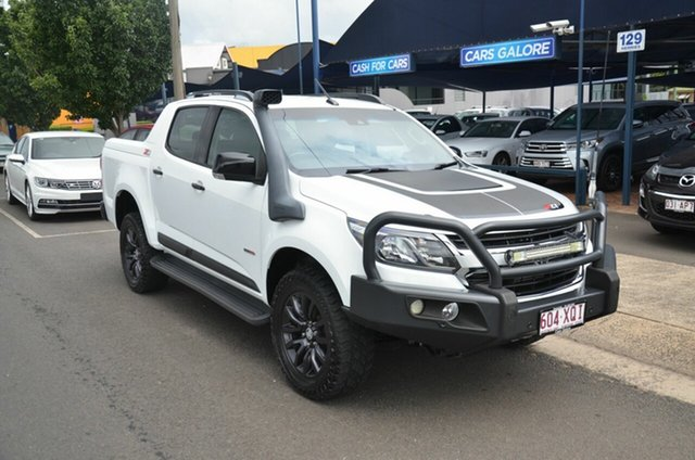 Used Holden Colorado RG MY16 Z71 (4x4) Toowoomba, 2016 Holden Colorado RG MY16 Z71 (4x4) White 6 Speed Automatic Crew Cab Pickup