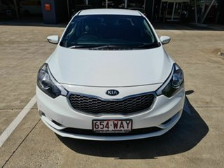 2014 Kia Cerato YD MY15 SI White 6 Speed Sports Automatic Sedan