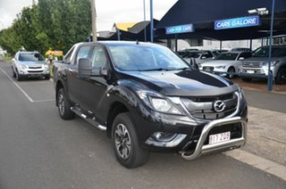 2016 Mazda BT-50 MY16 XTR Hi-Rider (4x2) Black 6 Speed Automatic Dual Cab Utility.