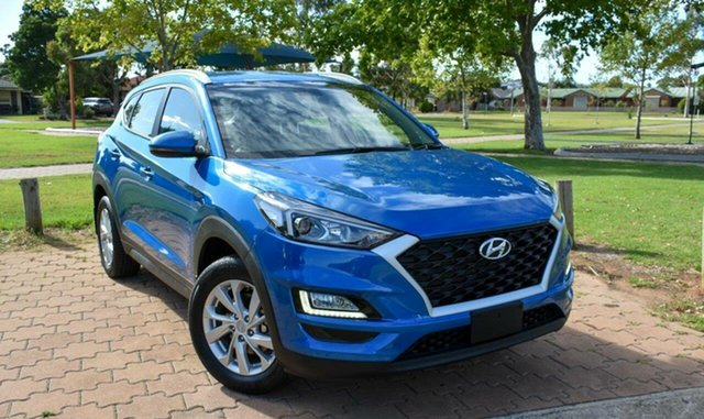 Used Hyundai Tucson TL3 MY19 Active X 2WD Ingle Farm, 2019 Hyundai Tucson TL3 MY19 Active X 2WD Blue 6 Speed Automatic Wagon