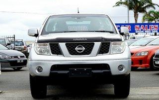 2009 Nissan Navara D40 Titanium Silver 6 Speed Manual Utility.