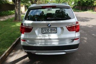 2011 BMW X3 E83 MY09 xDrive 20d Lifestyle Silver 6 Speed Auto Steptronic Wagon
