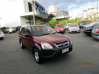 2003 Honda CR-V MY03 (4x4) Red 4 Speed Automatic Wagon.