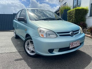 2003 Toyota Echo NCP12R MY03 Green 4 Speed Automatic Sedan.