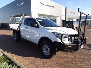 2016 Mazda BT-50 UR0YG1 XT Freestyle 4x2 Hi-Rider Cool White 6 Speed Manual Cab Chassis.