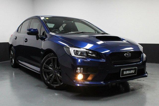Used Subaru WRX V1 MY17 Premium AWD Cardiff, 2017 Subaru WRX V1 MY17 Premium AWD Blue 6 Speed Manual Sedan
