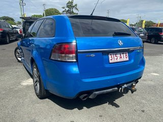 2012 Holden Commodore VE II MY12 SV6 Sportwagon Blue 6 Speed Sports Automatic Wagon