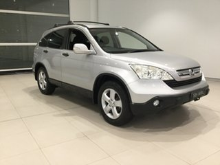 2008 Honda CR-V RE MY2007 4WD Silver, Chrome 5 Speed Automatic Wagon.