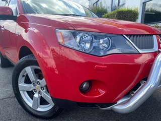2007 Mitsubishi Outlander ZG MY07 VR-X Red 6 Speed Sports Automatic Wagon.