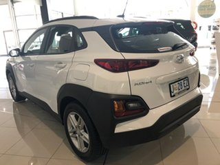 2020 Hyundai Kona OS.3 MY20 Active 2WD Chalk White 6 Speed Sports Automatic Wagon