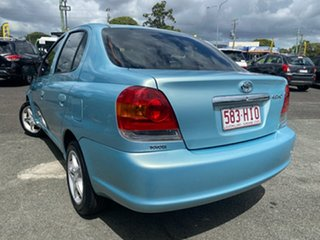 2003 Toyota Echo NCP12R MY03 Green 4 Speed Automatic Sedan