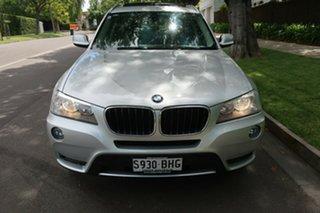 2011 BMW X3 E83 MY09 xDrive 20d Lifestyle Silver 6 Speed Auto Steptronic Wagon.