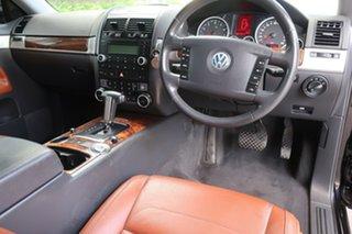 2007 Volkswagen Touareg 7L MY08 V6 FSI 4XMOTION Black 6 Speed Sports Automatic Wagon