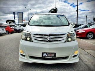 2006 Toyota Alphard ANH10W V AS Limited White Automatic Van.
