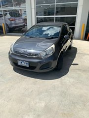 2013 Kia Rio UB MY13 S Grey 4 Speed Sports Automatic Hatchback.