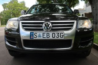 2007 Volkswagen Touareg 7L MY08 V6 FSI 4XMOTION Black 6 Speed Sports Automatic Wagon.