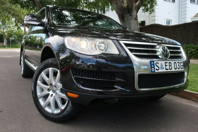 Used Volkswagen Touareg 7L MY08 V6 FSI 4XMOTION Prospect, 2007 Volkswagen Touareg 7L MY08 V6 FSI 4XMOTION Black 6 Speed Sports Automatic Wagon
